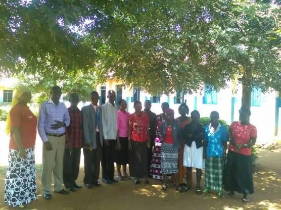 Teachers in Uganda